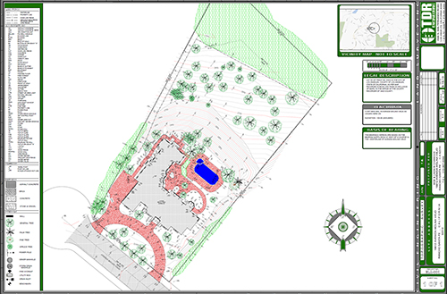 TDR Engineering Topographic Architectural Surveys - Property line survey map